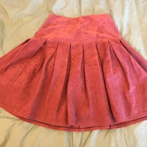 Dresses & Skirts - HIGH WAISTED VELVET SKIRT